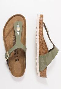 Birkenstock - GIZEH - Slippers - khaki - 3