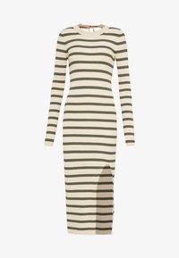 DRESS - Shift dress - beige/khaki