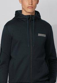 BOSS - SAGGY BATCH Z - Sweater met rits - dark blue - 3