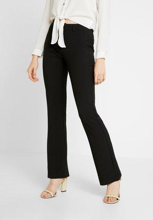 SASSY - Spodnie materiałowe - black