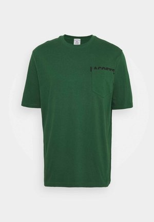 UNISEX - T-shirt basic - green/black