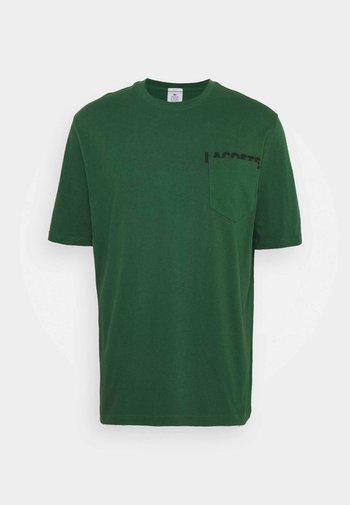 UNISEX - T-shirt basic - green/black