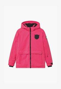 SuperRebel - SUSTAINABLE PLAIN UNISEX - Snowboardová bunda - fluo pink - 0