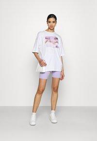 Hollister Co. - BIKE  - Shorts - lavender - 1
