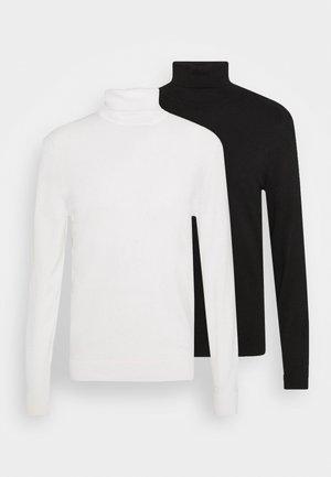 2 PACK - Neule - black/white
