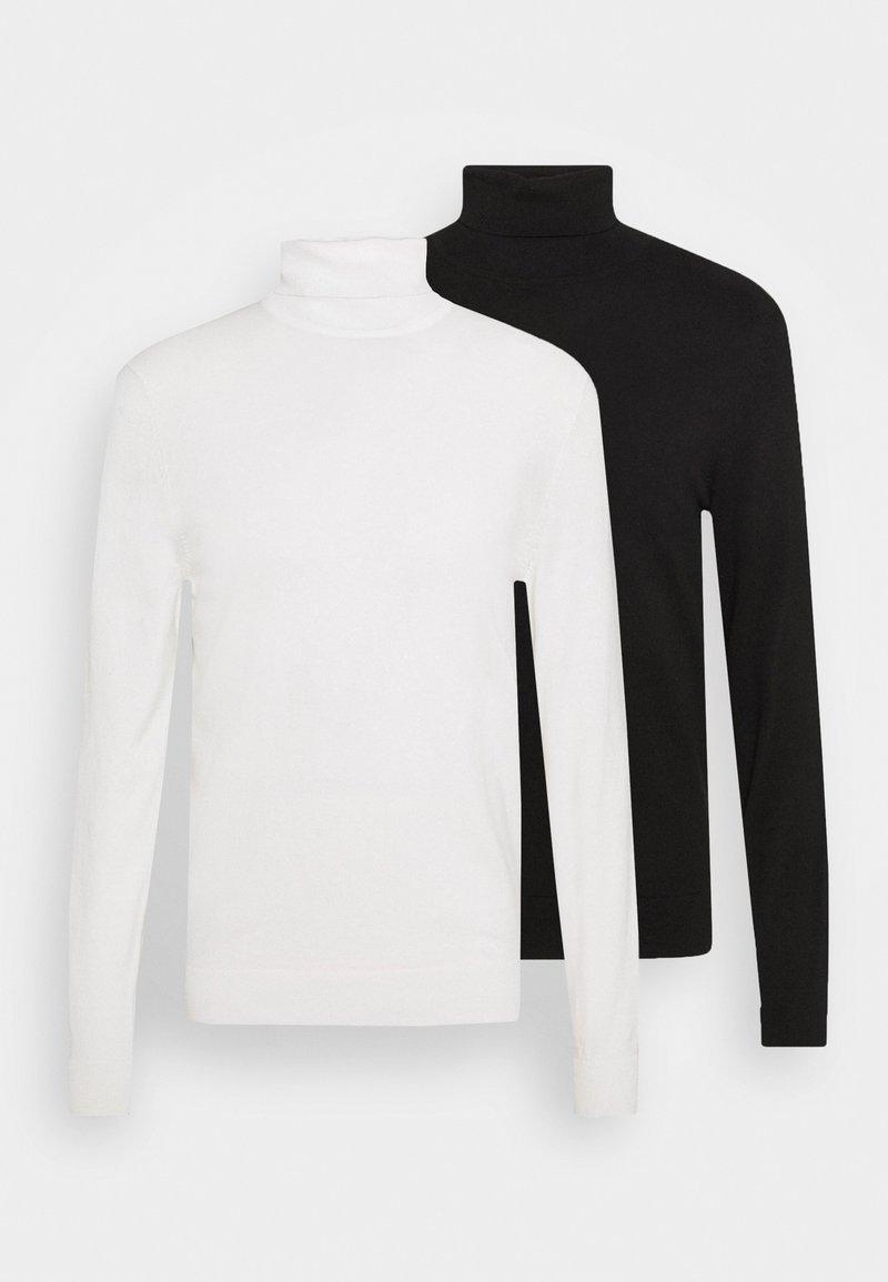 Zign - 2 PACK - Neule - black/white