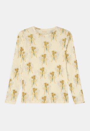 WINTERFLOWERS TEE UNISEX - T-shirt à manches longues - yellow