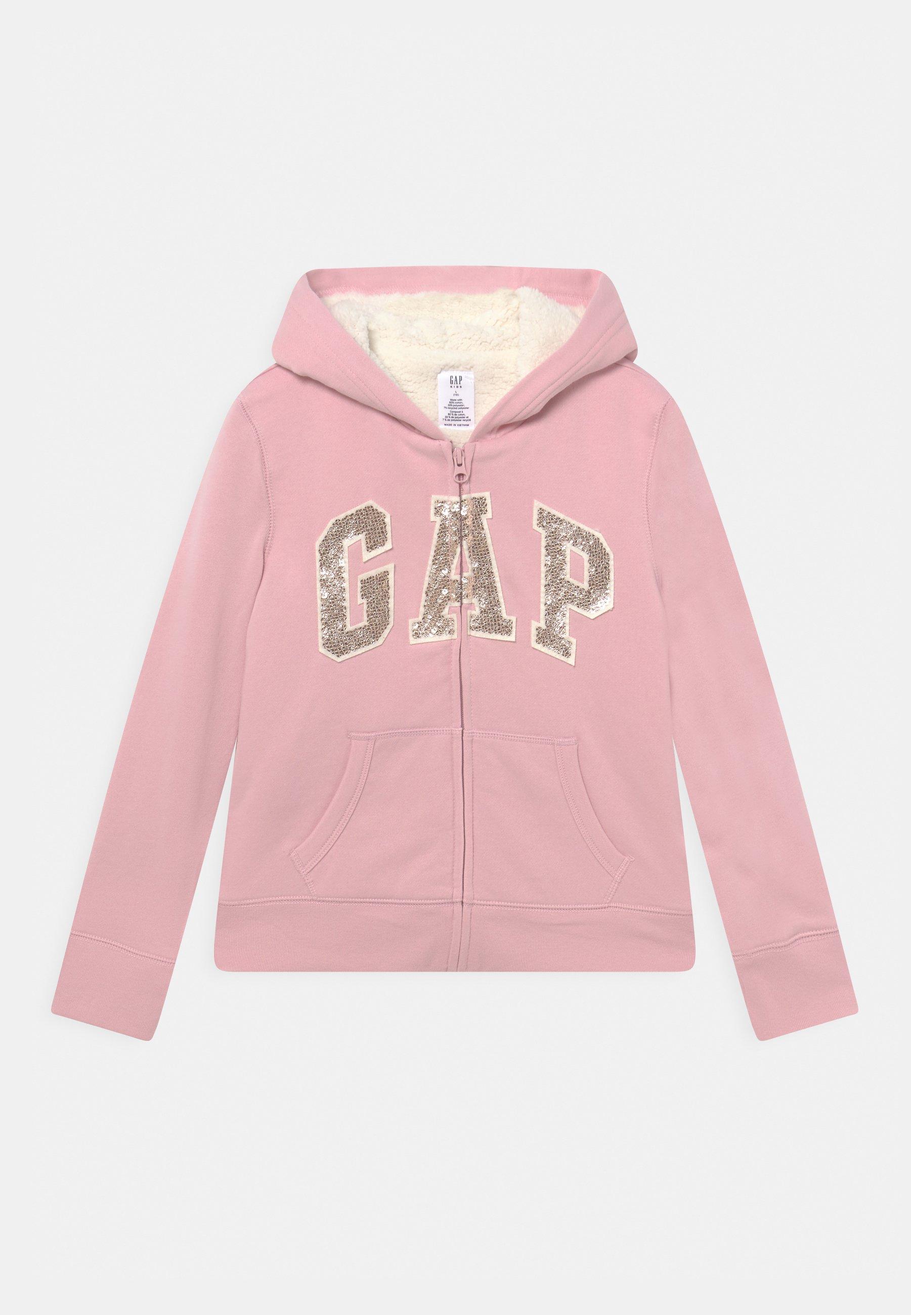 Kids GIRL LOGO COZY  - Zip-up sweatshirt