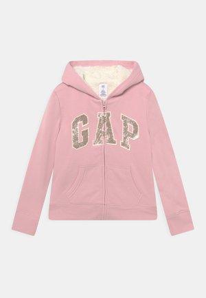 GIRL LOGO COZY  - Zip-up sweatshirt - pure pink