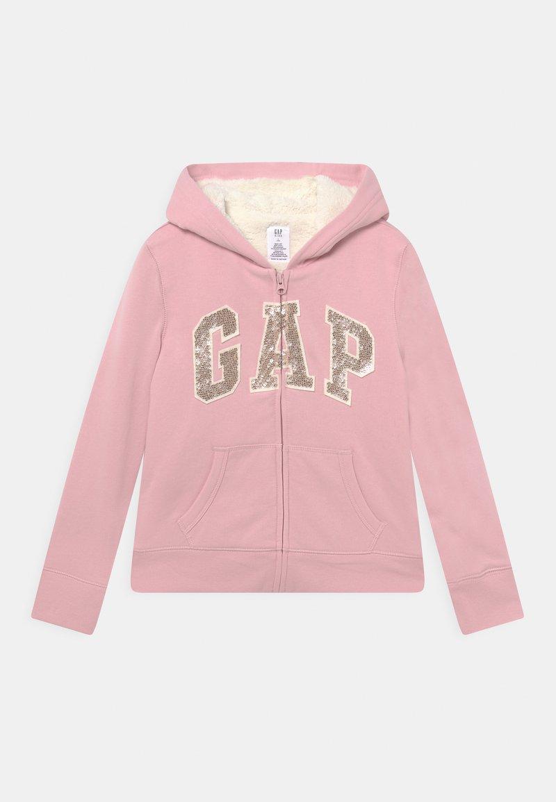 GAP - GIRL LOGO COZY  - Zip-up sweatshirt - pure pink