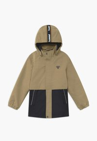 Hummel - MARK - Outdoorová bunda - beige/dark blue - 0