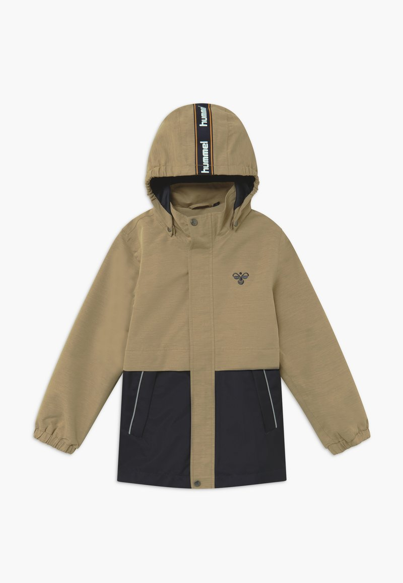 Hummel - MARK - Outdoorová bunda - beige/dark blue