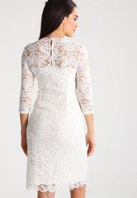 MAMALICIOUS - MLMIVANA DRESS - Vestido de cóctel - snow white - 2