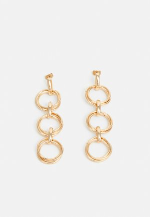PCNANI EARRINGS - Earrings - gold-coloured