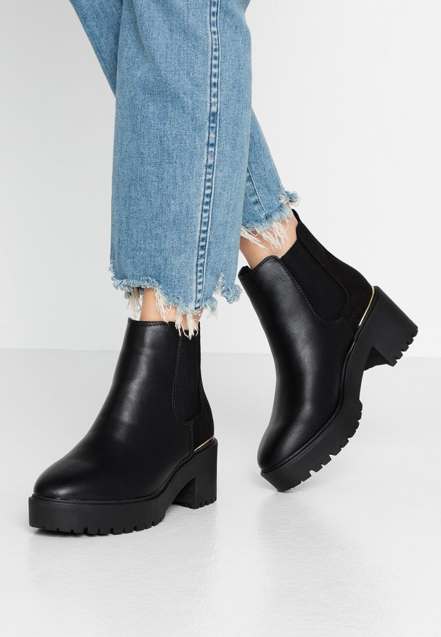 CIVIL - Boots à talons - black
