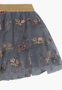 Hust & Claire - NELLA - A-line skirt - blue flint - 2