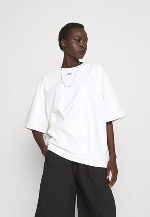 PATENT - T-shirt basic - natural white
