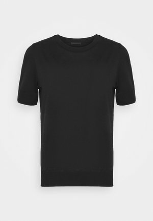 FAMMY - Basic T-shirt - schwarz
