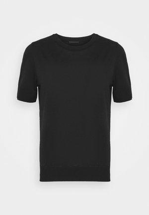 FAMMY - Basic T-shirt - schwarz