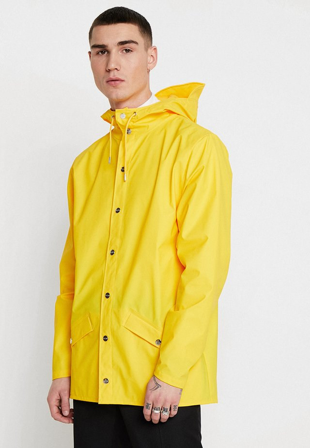 UNISEX JACKET - Impermeabile - yellow