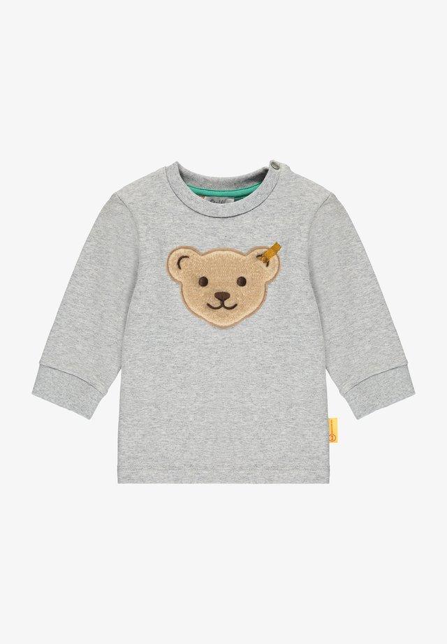 Sweater - soft grey melange