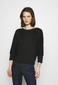 Opus - SITZA - Long sleeved top - black - 0