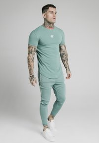 SIKSILK - Basic T-shirt - light petrol blue - 3