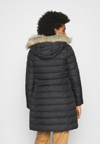 Tommy Jeans - ESSENTIAL HOODED COAT - Dunkåpe / -frakk - black - 2
