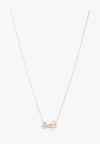 LIFELONG BOW PENDANT CRY MIX - Kaulakoru - rose gold-coloured
