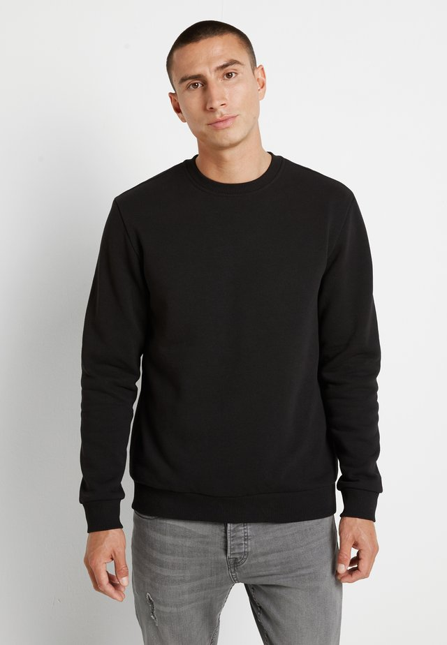 ONSCERES LIFE CREW NECK - Collegepaita - black