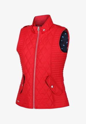 Waistcoat - true red