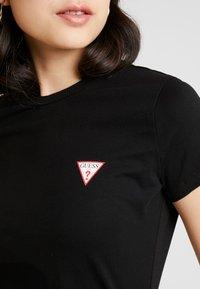 Guess - Basic T-shirt - jet black - 4