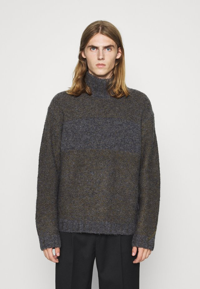 COZY TURTLENECK - Pullover - dark grey