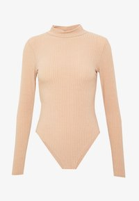 New Look - TURTLE BODY - Long sleeved top - camel - 4