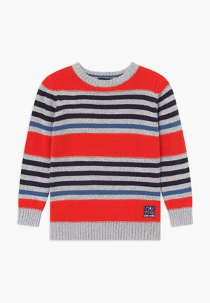 KIDS STRIPE - Jumper - tomate