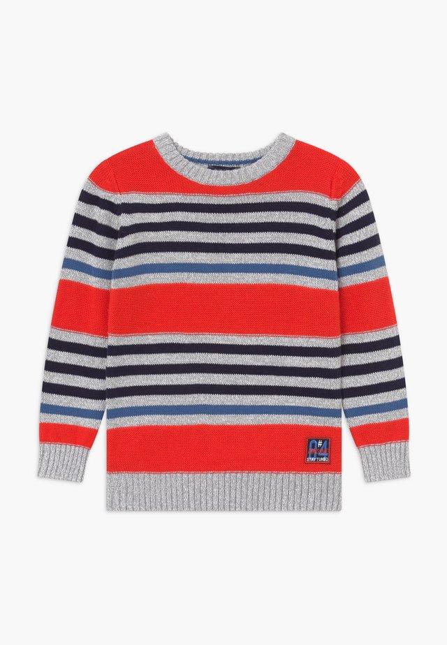 KIDS STRIPE - Pullover - tomate