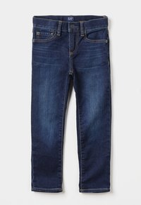 GAP - BOTTOMS SLIM - Slim fit jeans - dark blue denim - 0