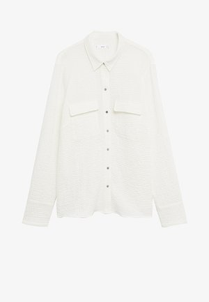 SOBRE - Button-down blouse - weiß