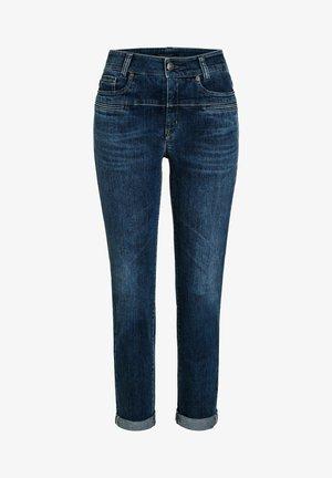 PEARLI 7/8-LÄNGE - Slim fit jeans - blue