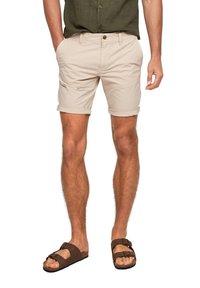s.Oliver - Shorts - beige - 4