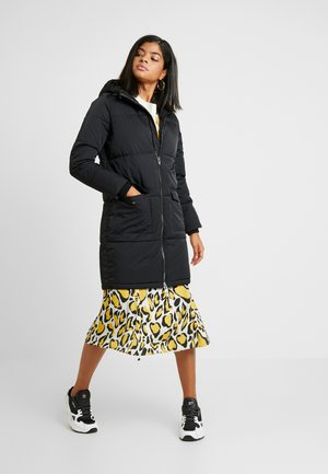OBJZHANNA LONG JACKET  - Vinterkåpe / -frakk - black