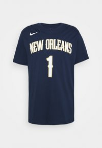 NBA NEW ORLEANS PELICANS ZION WILLIAMSON ASSOCIATION - T-shirt con stampa - college navy