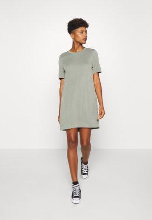 ABBIE DRESS - Jerseykjole - khaki green/medium dusty