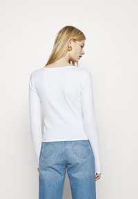 Hollister Co. - Long sleeved top - white - 2