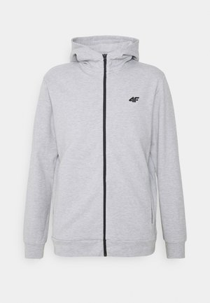 Men's hoodie - veste en sweat zippée - grey