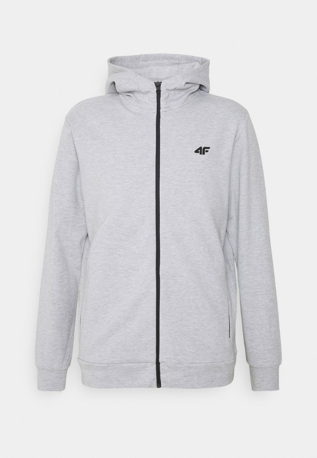 Men's hoodie - Sweatjakke /Træningstrøjer - grey