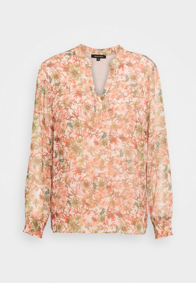 PRINTED BLOUSE - Camicetta - light peach