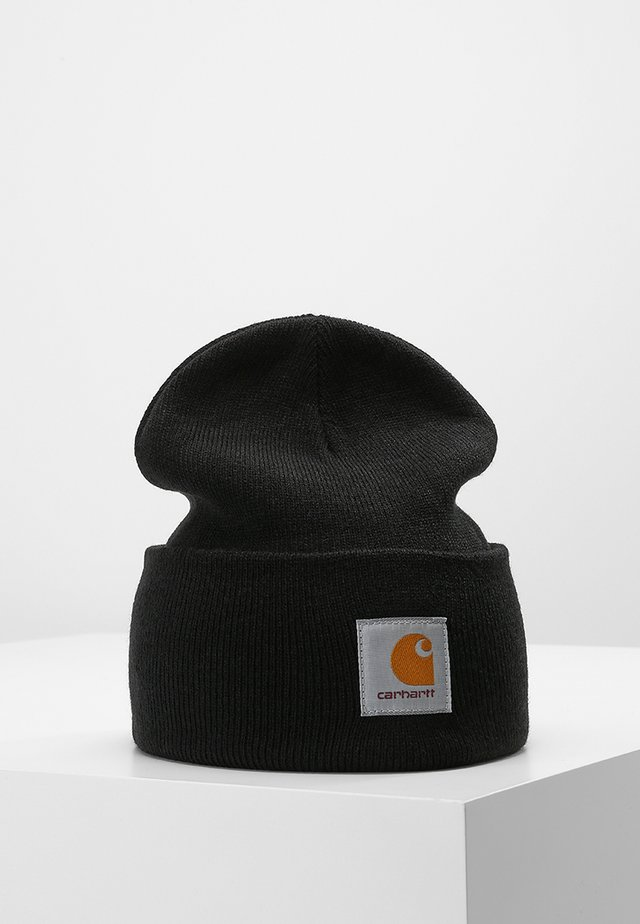 WATCH HAT - Bonnet - black