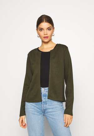 JDYSAGA NEW SHORT CARDIGAN - Kardigan - forest night