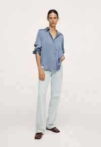 Mango - IDEALE - Overhemdblouse - blue - 1